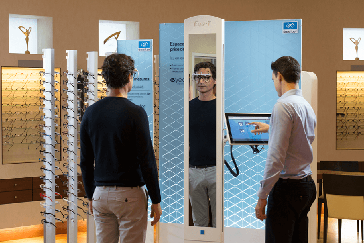 Measuring for eyecode personalisation