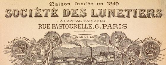 Societe Des Lunetiers Essilor's history