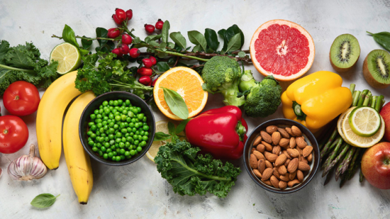 Foods rich in vitamins for good eye health