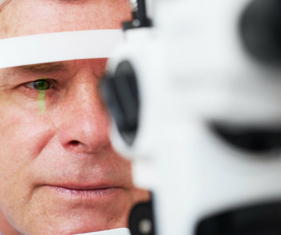 slit lamp testing for cataracts